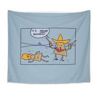 Nacho Business - indoor-wall-tapestry - small view