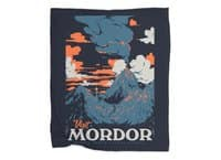 Visit Mordor - blanket - small view