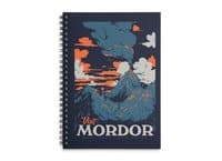 Visit Mordor - spiral-notebook - small view