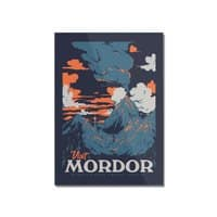 Visit Mordor - vertical-mounted-acrylic-print - small view