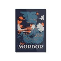 Visit Mordor - vertical-mounted-aluminum-print - small view