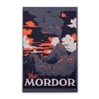 Visit Mordor - vertical-stretched-canvas - small view