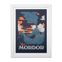 Visit Mordor - white-vertical-framed-print - small view