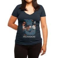 Visit Mordor - womens-deep-v-neck - small view