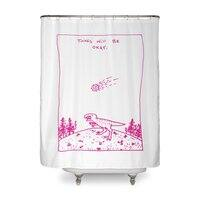 Things Will Be Okay - shower-curtain - small view
