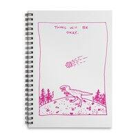 Things Will Be Okay - spiral-notebook - small view