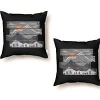 Into the Grey... - throw-pillow - small view