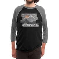 Into the Grey... - triblend-34-sleeve-raglan-tee - small view