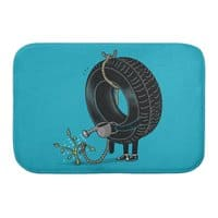 Good Things Come to Those Who Wait! - bath-mat - small view