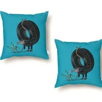 Good Things Come to Those Who Wait! - throw-pillow - small view
