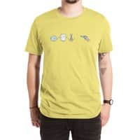 Rock, Paper, Scissors, Shoot! - mens-extra-soft-tee - small view
