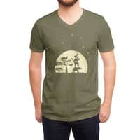 Reach For The Stars - vneck - small view
