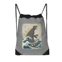 The Great Monster Off Kanagawa - drawstring-bag - small view