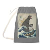 The Great Monster Off Kanagawa - laundry-bag - small view