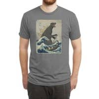 The Great Monster Off Kanagawa - mens-triblend-tee - small view