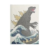 The Great Monster Off Kanagawa - notebook - small view