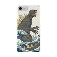 The Great Monster Off Kanagawa - perfect-fit-phone-case - small view