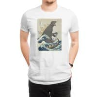 The Great Monster Off Kanagawa - mens-regular-tee - small view
