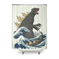 the great monster off kanagawa by michael buxton threadless. Black Bedroom Furniture Sets. Home Design Ideas