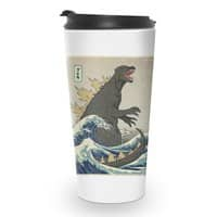 The Great Monster Off Kanagawa - travel-mug - small view