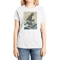 The Great Monster Off Kanagawa - womens-extra-soft-tee - small view