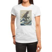 The Great Monster Off Kanagawa - womens-regular-tee - small view