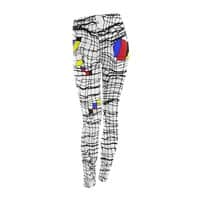 Drunk Mondrian - leggings - small view