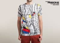 Drunk Mondrian - mens-sublimated-tee - small view