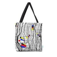Drunk Mondrian - tote-bag - small view