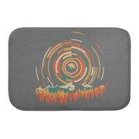 The Geometry of Sunrise - bath-mat - small view