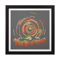 The Geometry of Sunrise - black-square-framed-print - small view