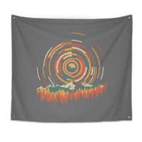 The Geometry of Sunrise - indoor-wall-tapestry - small view