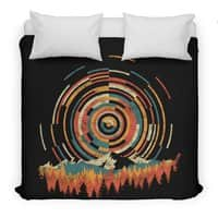 The Geometry of Sunrise - duvet-cover - small view