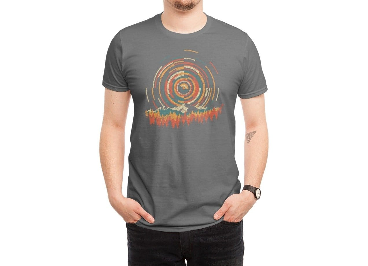 The Geometry Of Sunrise By Dianne Delahunty Mens Regular Tee