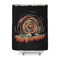 The Geometry of Sunrise - shower-curtain - small view