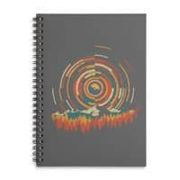 The Geometry of Sunrise - spiral-notebook - small view
