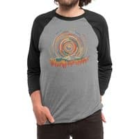 The Geometry of Sunrise - triblend-34-sleeve-raglan-tee - small view