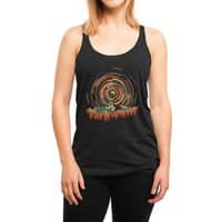 The Geometry of Sunrise - womens-triblend-racerback-tank - small view