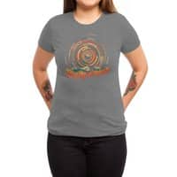 The Geometry of Sunrise - womens-triblend-tee - small view