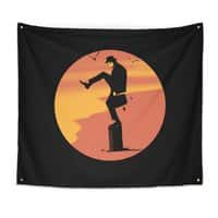 Silly Karate - indoor-wall-tapestry - small view