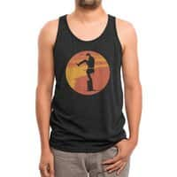 Silly Karate - mens-triblend-tank - small view