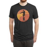 Silly Karate - mens-triblend-tee - small view