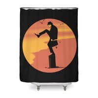 Silly Karate - shower-curtain - small view