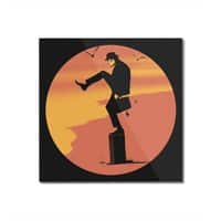 Silly Karate - square-mounted-acrylic-print - small view