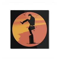 Silly Karate - square-mounted-aluminum-print - small view