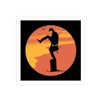 Silly Karate - square-print - small view