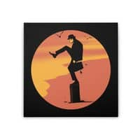 Silly Karate - square-stretched-canvas - small view