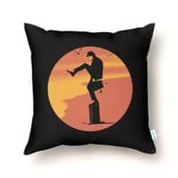 Silly Karate - throw-pillow - small view