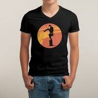 Silly Karate - vneck - small view