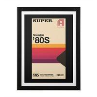 Super Tape - black-vertical-framed-print - small view